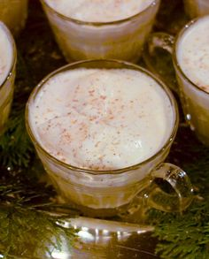 """This recipe for eggnog is from Martha Stewart's """"Entertaining."""""""