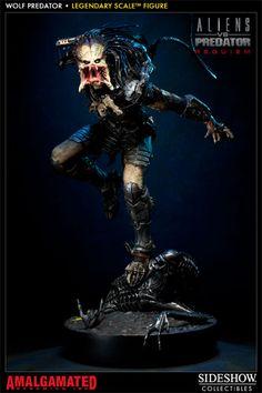 [SIDESHOW] Alien vs Predator: Requiem – Wolf Predator Legendary Scale Figure