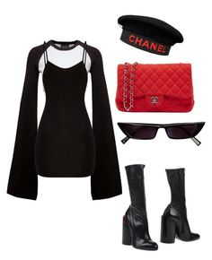 """""""Untitled #68"""" by dilrubassmrn ❤ liked on Polyvore featuring Puma, Givenchy and Chanel"""