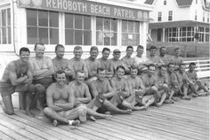 2. The Rehoboth Beach Patrol decked out to save lives in the summer of 1950.