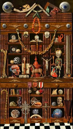 cabinet of curiosities:)                                                                                                                                                                                 More