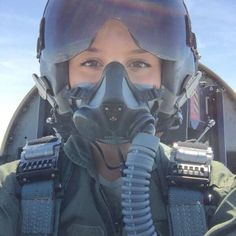 Beautiful Lady Pilot in Helmet and Mask Female Fighter, Fighter Pilot, Fighter Jets, Female Pilot, Female Soldier, Army Soldier, Airplane Pilot, Military Women, Album Design