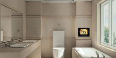 Banyo dekorasyon fikirleri ile güzel evler