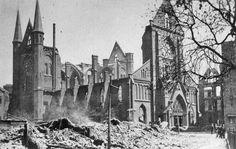 Goudschesingel: Boschjeskerk mei 1940