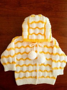 Baby Knitting Patterns, Knitting Designs, Baby Patterns, Knitting Dolls Clothes, Doll Clothes, Crochet Baby, Knit Crochet, Knitted Baby, Yarn Bombing