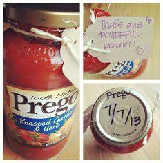 baby announcement idea DIY