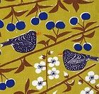 scandinavian fabric vtg retro yellow birds almedahls DIY cushion curtain in Crafts, Sewing & Fabric, Fabric Textile Patterns, Textile Design, Fabric Design, Textile Prints, Scandinavian Curtains, Scandinavian Prints, Retro Curtains, Diy Curtains, Curtain Fabric
