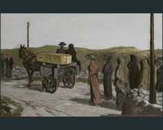 Jack B. Yeats...painted in the time of Nana's mother's funeral in Swinford.