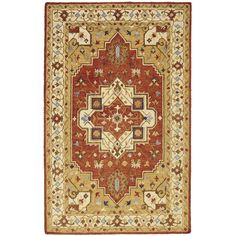 Pier 1 Imports Padma Hand Hooked 8x10 Rug ($700) ❤ Liked On Polyvore