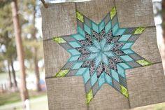 little lone star pillow front using linen!  beautiful!
