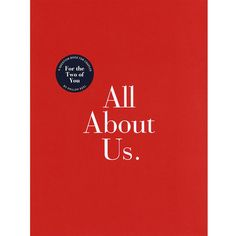 All About Us by Philipp Keel $10.13 --- A powerfully revealing book for couples, filled with thought-provoking questions to capture your relationship in a meaningful yet fun way, All About Us gets to the heart of the matter by asking the questions that partners may be desperately curious about, but hesitant to bring up.