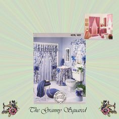 Bathroom Essentials by McCalls Crafts: Window by TheGrannySquared