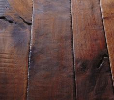 Reclaimed wood. Would love these floors in my home!