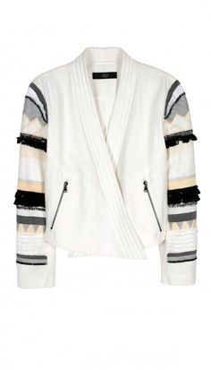 Tibi Arty Thread Embroidered Jacket. Shop it and 29 other Coachella-ready jackets (because it CAN get cool in the desert).
