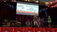 PERTH - Grup musik asal Lhokseumawe, Aceh, Bink Vho tampil di Curtin Stadium…