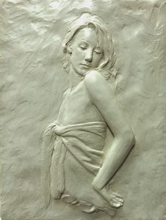 """Sutton Betti Sculpture and Drawings: #48 """"Stella"""" relief sculpture"""