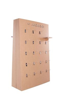 Cardboard Design, Paper Design, Pos Display, Cardboard Furniture, Department Store, Hangers, Events, Easy, Products