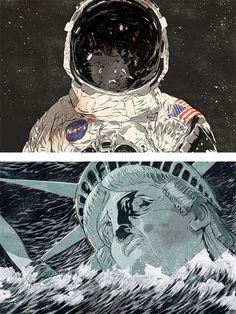 Terrific #art from Matthew Woodson #illustration