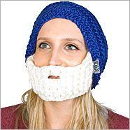 "the original ""beard hat"""