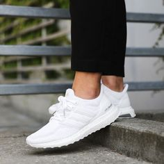 "best authentic 5a830 9f7ba Supplying Girls With Sneakers on Instagram ""TODAYS CRUSH! The white Adidas  UltraBOOST W is now available! The Ultra Boost is specifically designed to  ..."