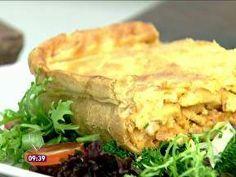 Torta de Frango - Foto de Mais Você na TV