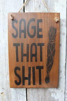 Funny Wood Signs, Diy Wood Signs, Wiccan Decor, Wiccan Altar, Primitive Wood Signs, Sign Maker, Dorm Decorations, Wood Screws, Sign Design