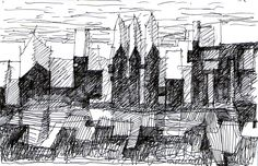 #taccuino #schizzo #carnet #croquis #disegno #drawing #sketchbook #architecture #city #architettura