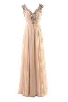 YiYaDawn Langes Rückenfreies Partykleid Abendkleid für Damen