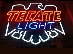 Tecate Light Sign