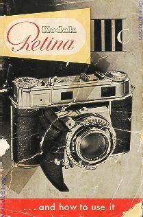 Kodak Retina IIIC instruction manual, user manual, PDF manual, free manuals