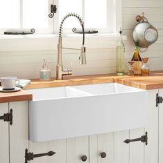 72 best double fireclay farmhouse sinks images in 2019 apron front rh pinterest com