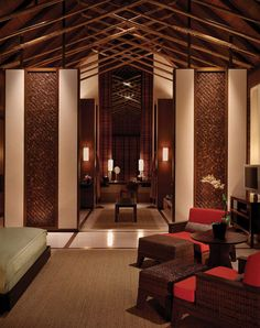 ~ those textures are love ++ Tropical Retreat in Maldives: Reethi Rah Five-star Resort