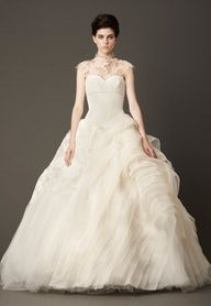 Vera Wang Fall 2013 Wedding Dress Collection