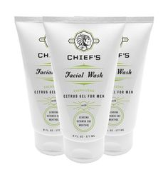 chiefs facial wash for men