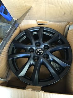 Mazda 3 BM Maxx/Touring Black Rims