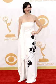 I think this was my favorite look of the nite!  22 Gowns That Won At Last Night's Emmys #refinery29
