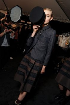 Marc Jacobs FW12 Backstage