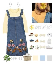 """Free Spring - Young again"" by jhffa ❤ liked on Polyvore featuring James Perse, Topshop, GET LOST, Accessorize, Michael Kors, Joshua's, Reebok, Crate and Barrel, Seletti and Höganäs Ceramic"