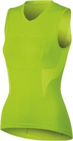 Castelli Dolce sleeveless Women's Cycling Jersey.  Eye Catching in Acid Green.   Save with FAST - Free SHIPPING from CycleGarb.com