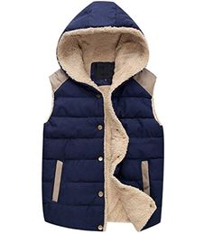 NEW Cotton Vest Women Waistcoat Winter Men And Women Lovers Hooded Vest Fleece Jackets Chalecos Mujer Sleeveless Cardigan Mens Fleece Hoodie, Hooded Vest, Hooded Sweatshirts, Fleece Jackets, Men's Jackets, Vest Coat, Vest Jacket, Vest Men, Winter Vest