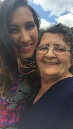my grandma, she's been with me through everything since she lives with us.