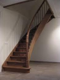 Afbeeldingsresultaat voor gebogen trap