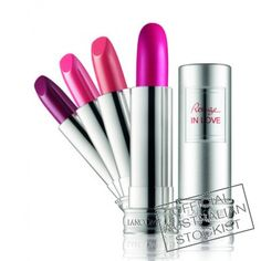 My new love is Lancome Rouge in Love in colours 353M, 322M and 163M. My kind of colors! :)