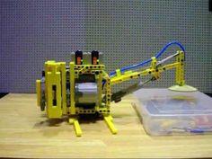 LEGO Pneumatic vacuum catcher - YouTube Lego Machines, Vacuums, Catcher, Nerf, Entertaining, Toys, Youtube, Activity Toys, Vacuum Cleaners