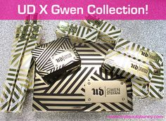 NEW! Limited Edition Urban Decay Gwen Stefani Collection review and beautiful photos from| My Beauty Bunny!