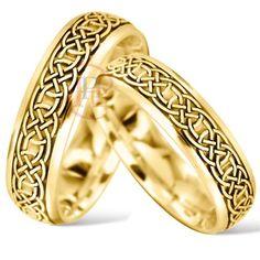 Celtic Wedding Rings - Celtic Jewellery