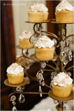 Photo by SMS Photography. #SweetTreets #ATX #Cupcakes #Wedding