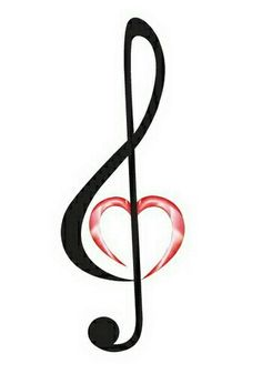 Ideas For Music Note Tattoo Ideas Inspiration Treble Clef Music Tattoo Designs, Music Tattoos, Body Art Tattoos, Faith Tattoos, Rib Tattoos, Tatoos, Word Tattoos, Music Heart Tattoo, Music Symbols