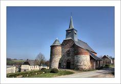 église saint Nicolas de Bancigny. Picardie