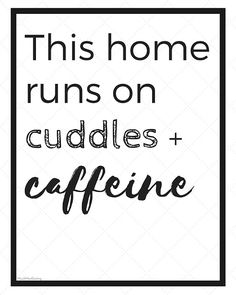 Much.Most.Darling.: At Home Coffee Station + Free Printables with International Delight Simply Pure Coffee Creamer